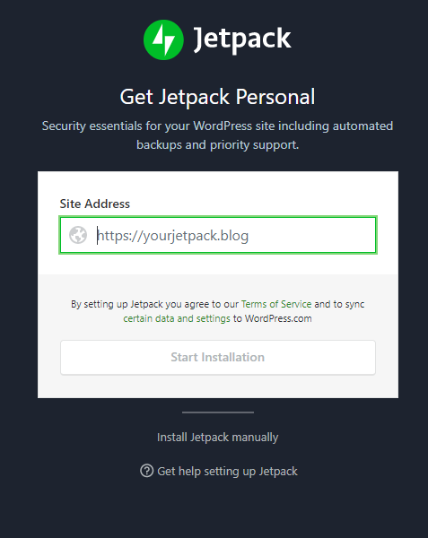 Use Jetpack on your site