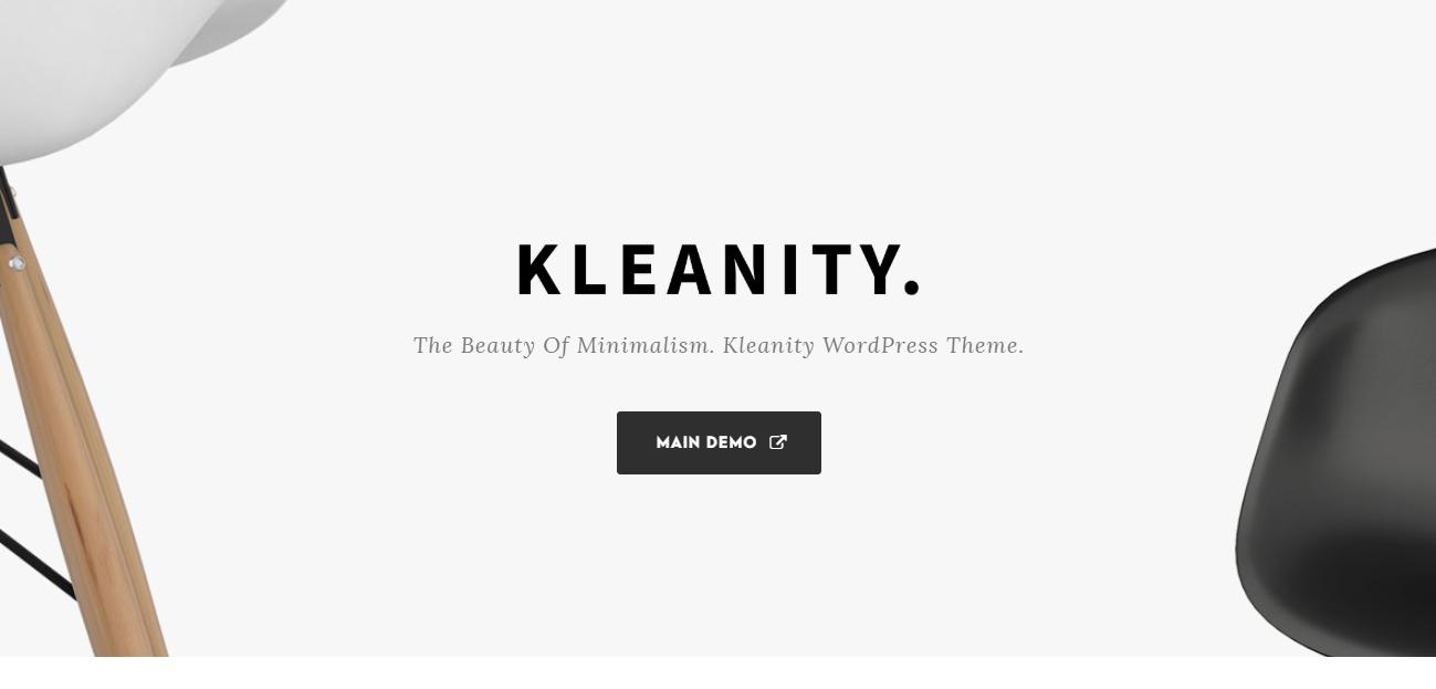 Kleanity theme