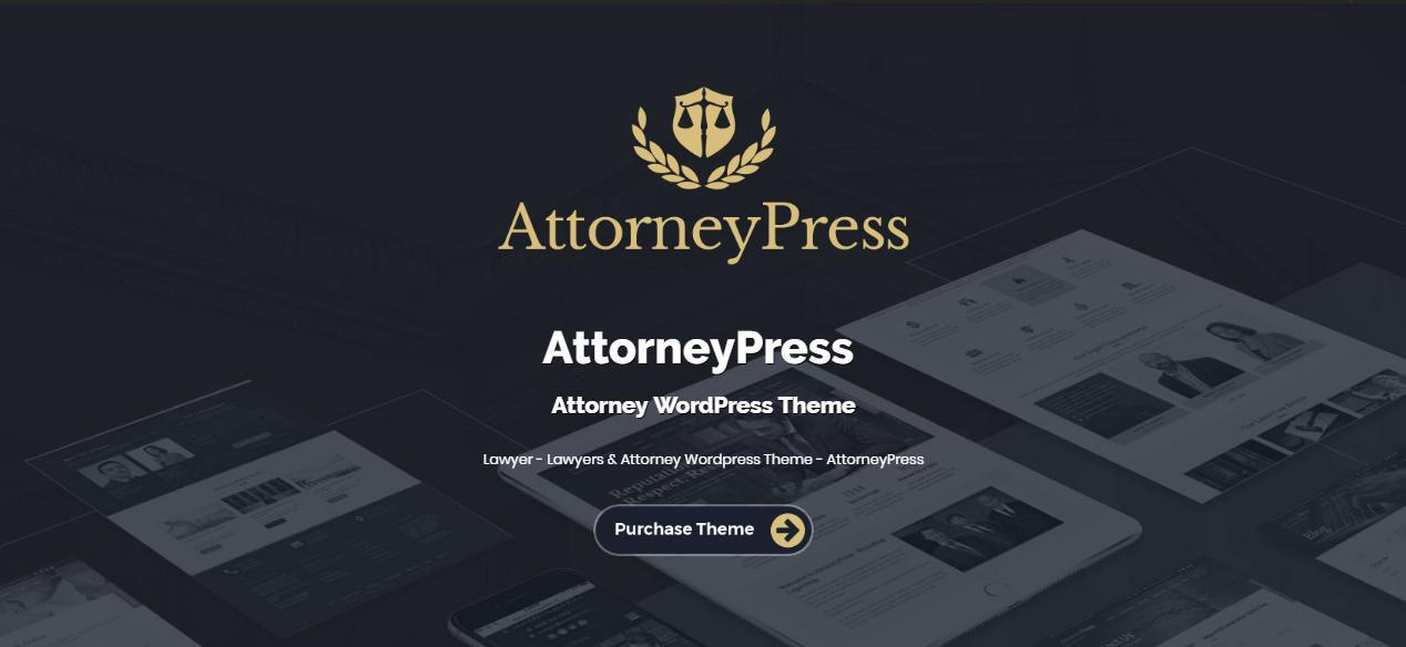 Attorney Press theme