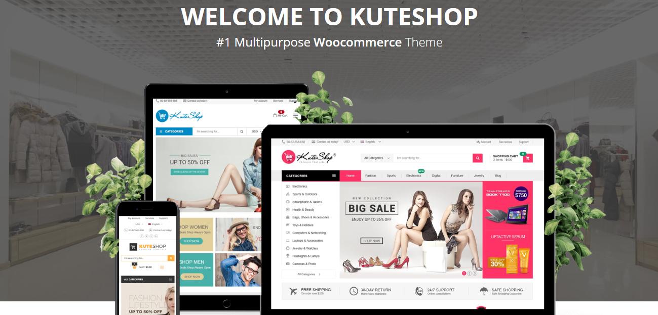 KuteShop theme