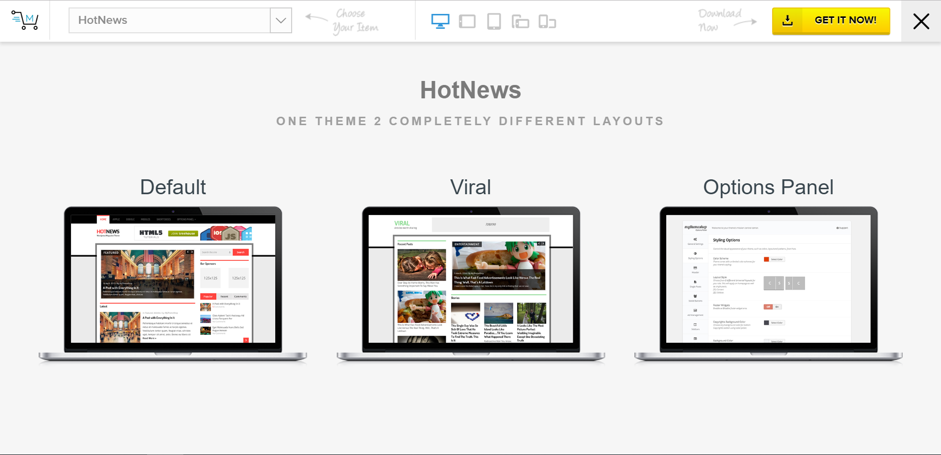 HotNews theme