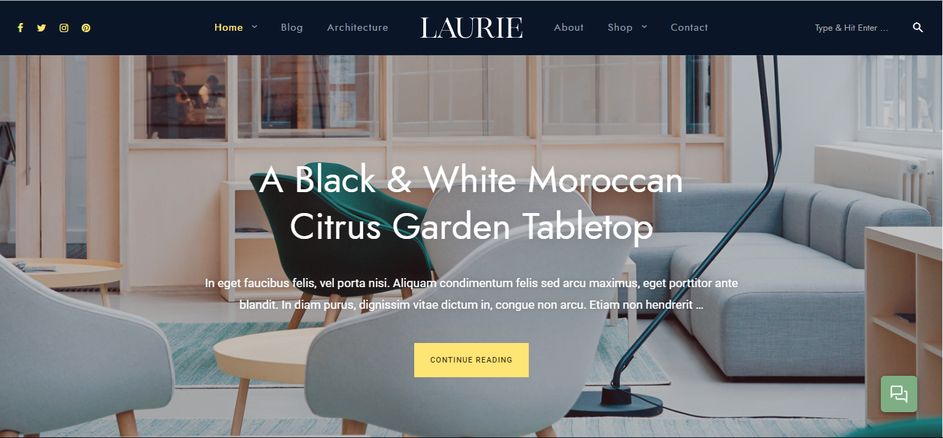 Laurie theme