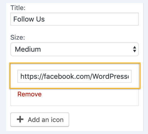how to insert Social Media buttons to your sidebar or footer
