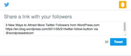 how to insert twitter tweet button