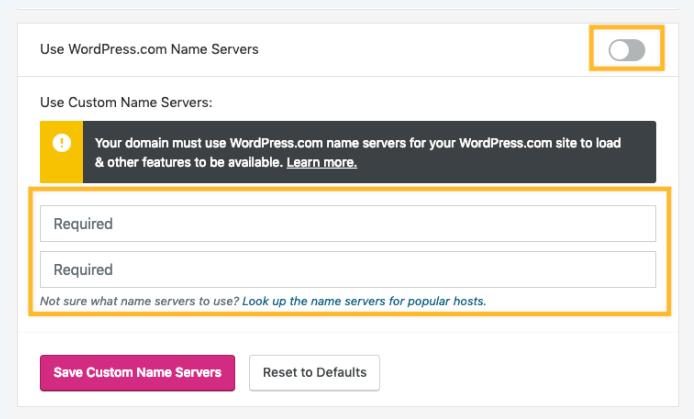 how Custom DNS works