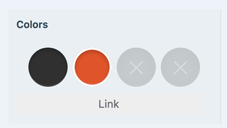 how to add custom colors to your site