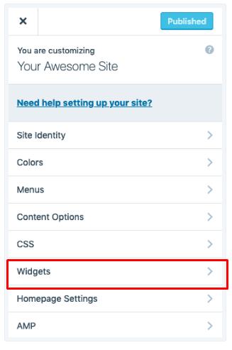 show Tag Cloud widget