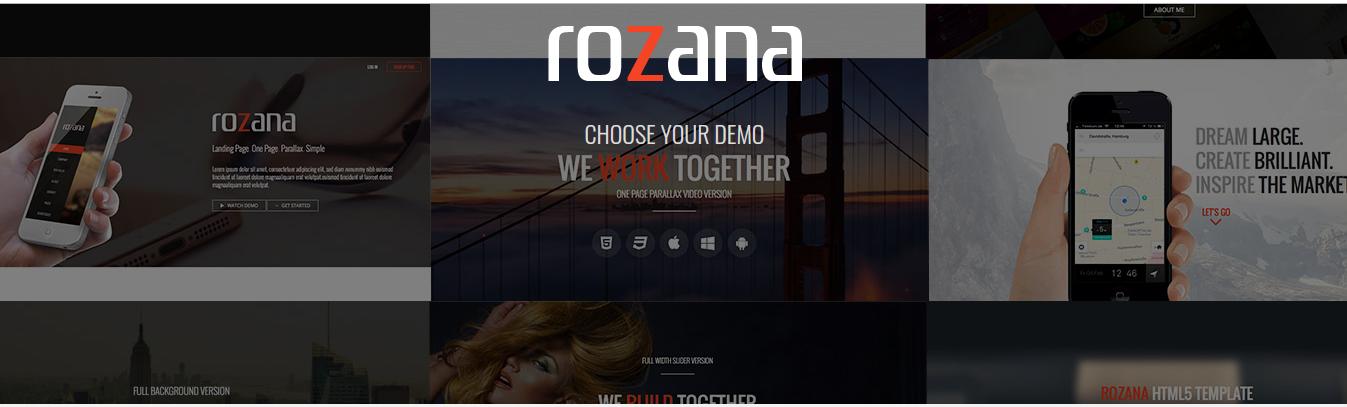 Rozana theme