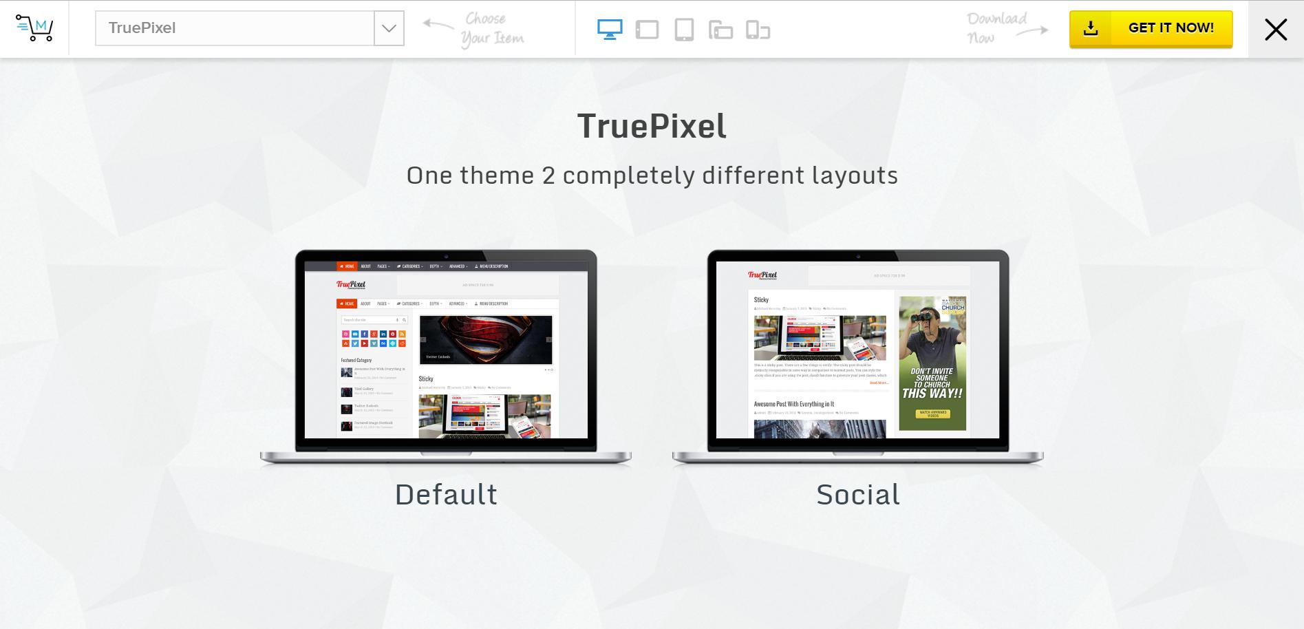 TruePixel theme