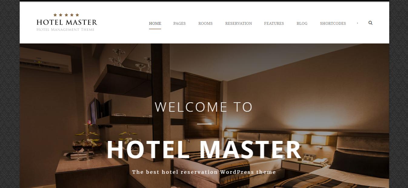 Hotel WordPress Theme theme