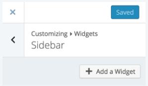 Insert Video widget to your post