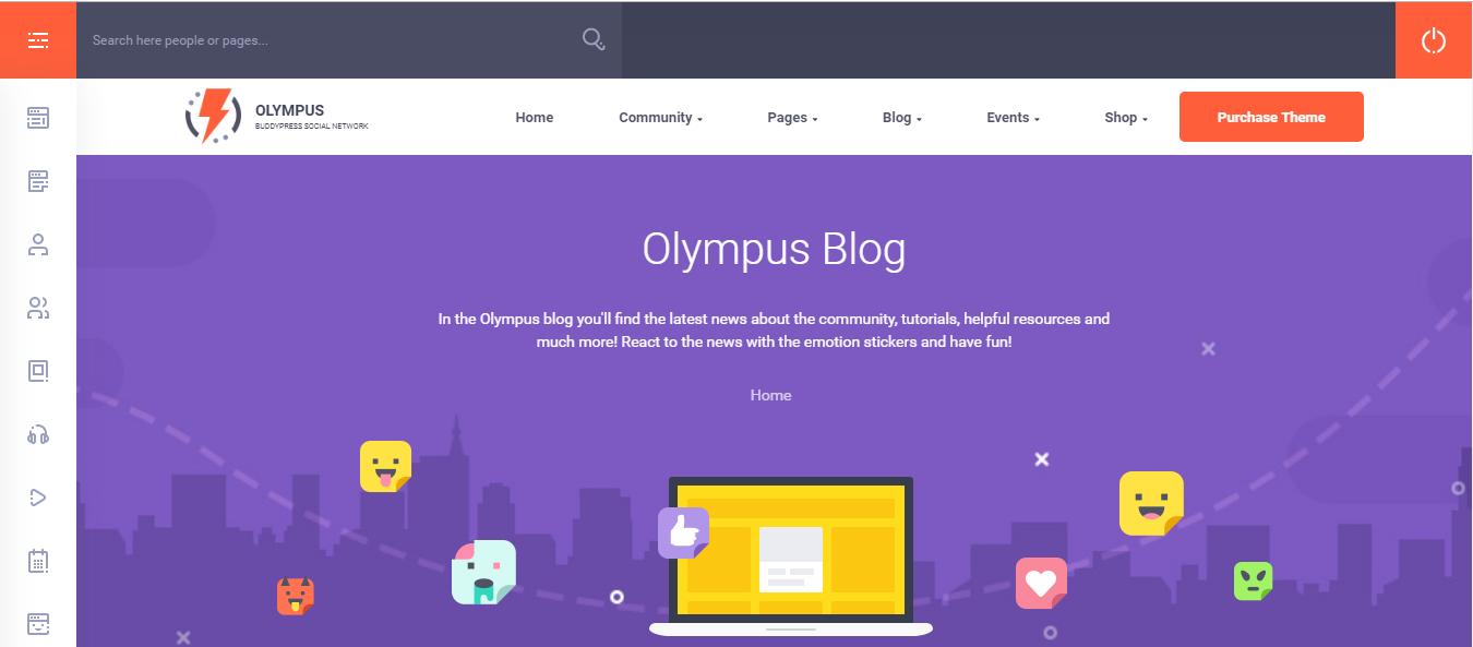 Olympus theme