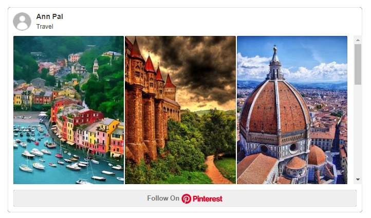 how to embed your content from Pinterest on WordPress