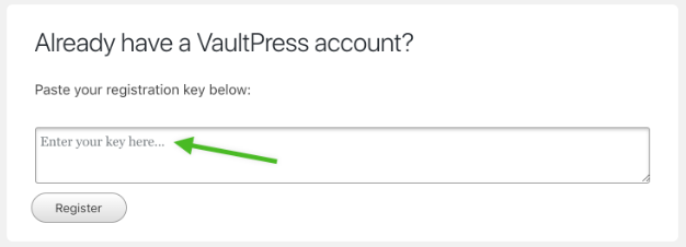 Install VaultPress on your site