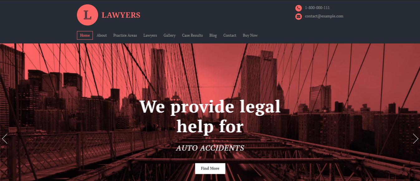 Lawyers theme