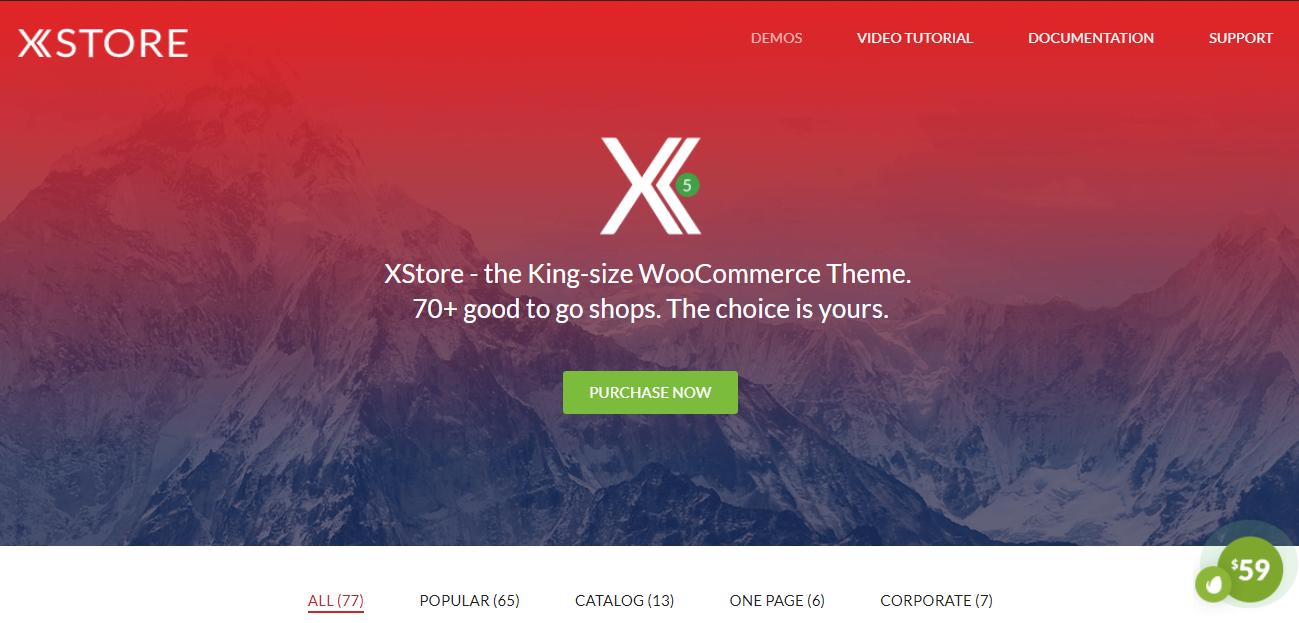 XStore theme