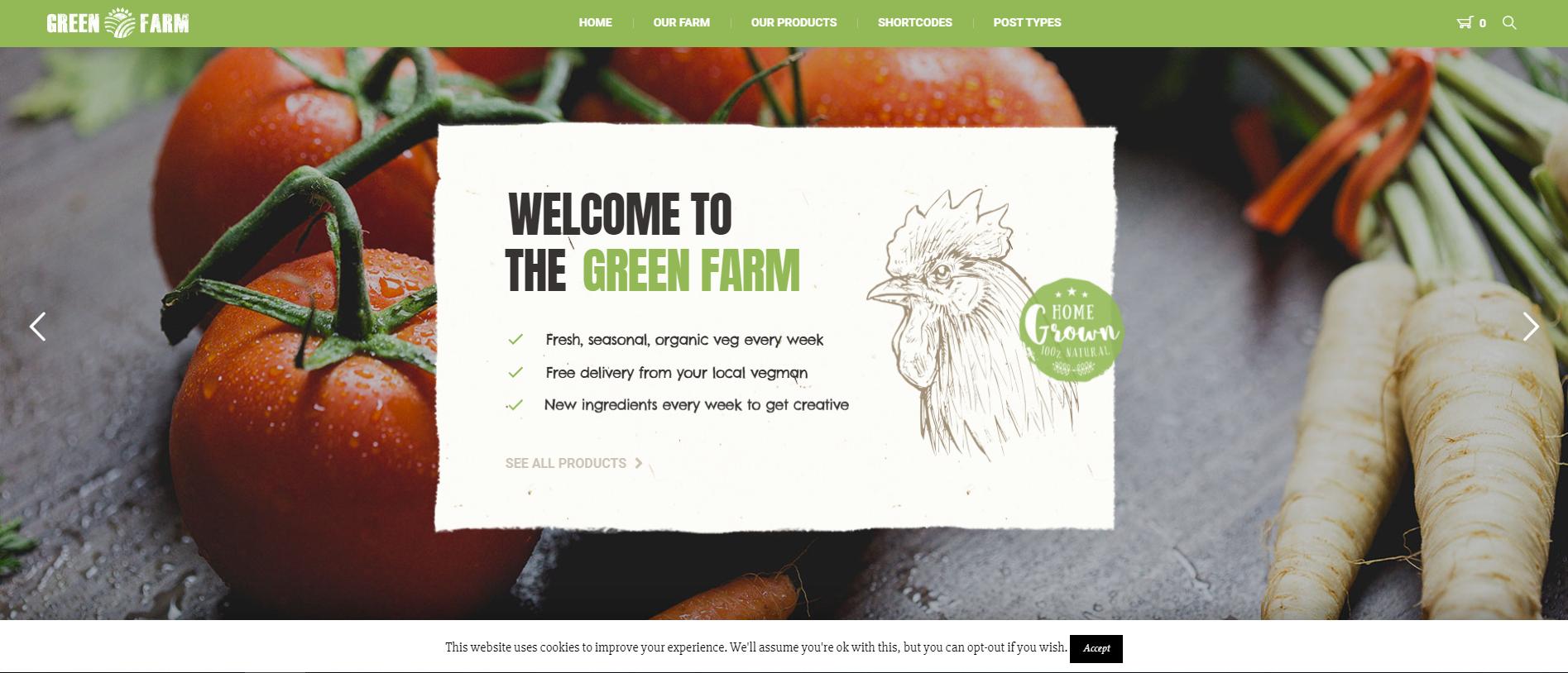 Green Farm theme