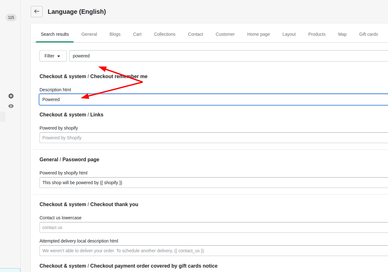 how to modify your theme language settings in shopify